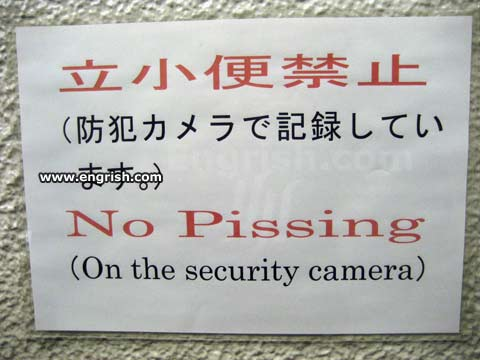 Funny Pictures go here No-pissing-on-security-camera