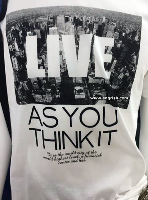 live-as-you-think-it
